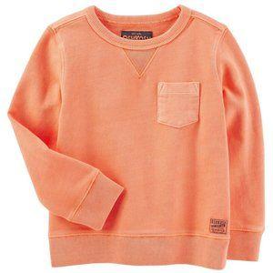 OshKosh Peach French Terry Sweatshirt